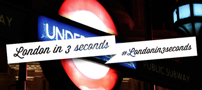 London in 3 seconds #Londonin3seconds