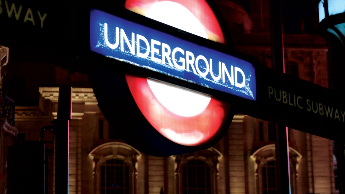 London Tube - underground - Public transport